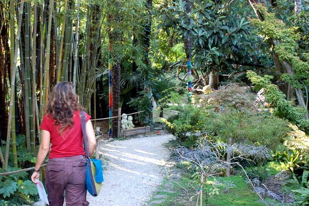 Giardino Botanico Heller Gardone Riviera Gardasee Italien