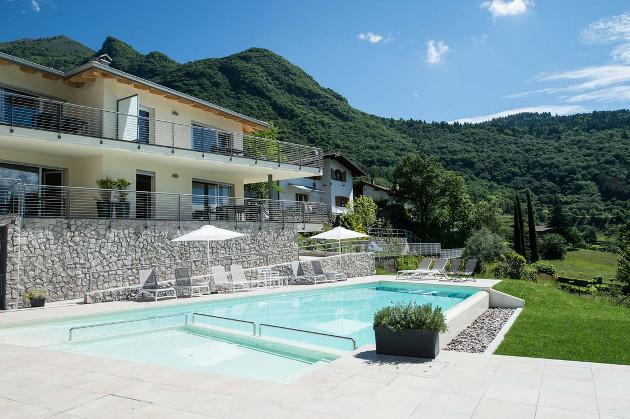 Terrazze sul Garda, Lago di Tenno - Gardasee (Italien)