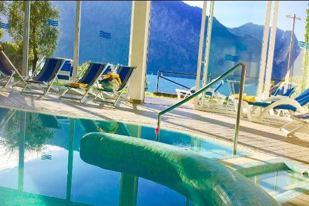 Hotel Villa Monica Malcesine Gardasee Italien