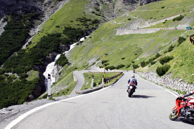 Motorradrouten Zum Gardasee