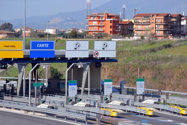 Autobahngebühren auf dem Weg zum Gardasee