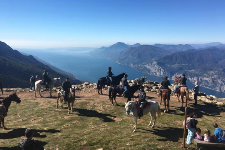 Reitwege auf dem Monte Baldo