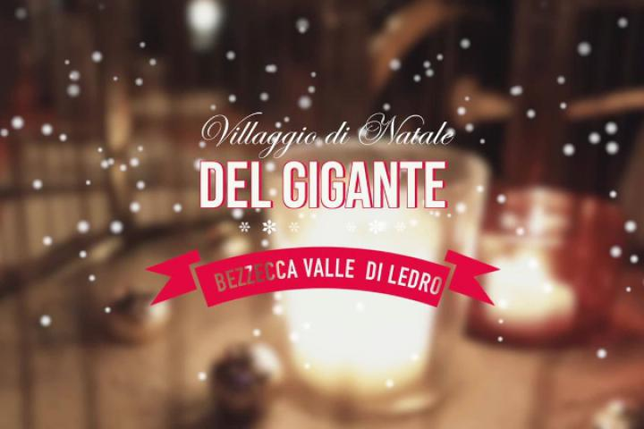 IL VILLAGGIO DI NATALE DEL GIGANTE - Das Weihnachtsdorf des Riesen