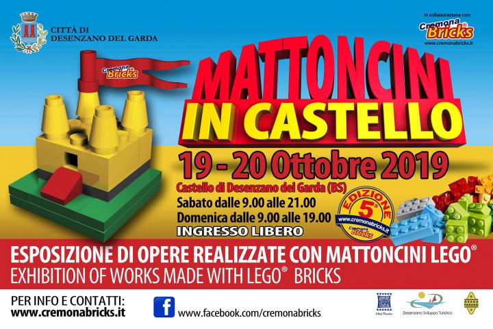 "Lego-Event ""Mattoncini in Castello"" in Desenzano"