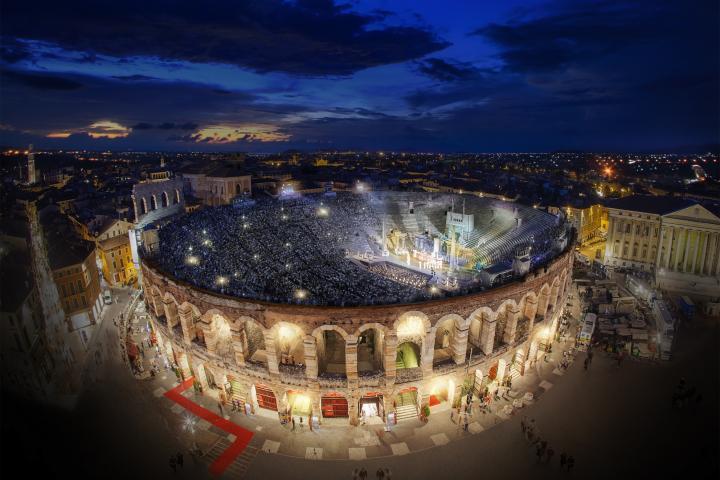 Alternativprogramm für den Sommer 2020 in der Arena di Verona