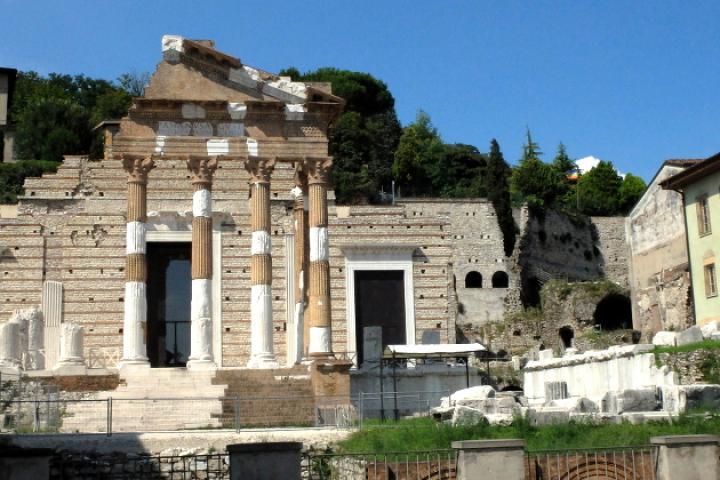 Capitolium und Teatro Romano in Brescia