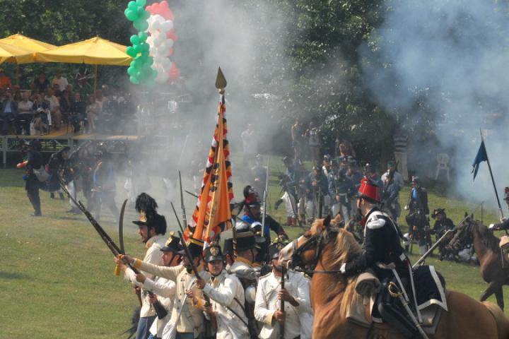 Historische Schlacht in San Martino