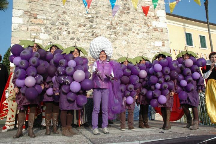 "Der Karneval in Bardolino ""Bacco e Arianna"""