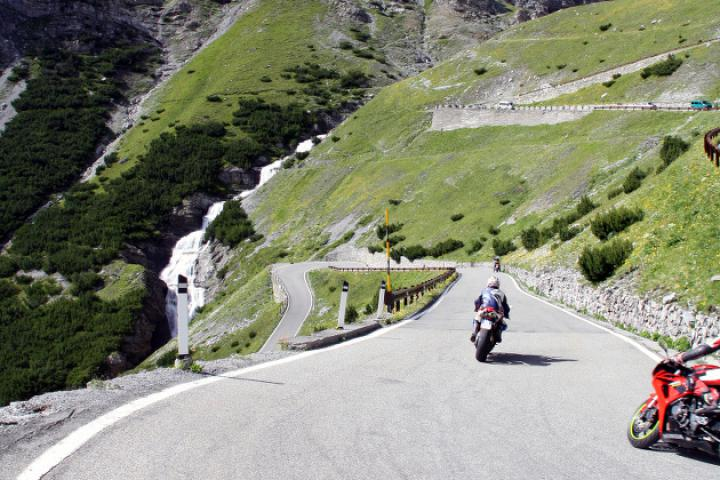 Motorradrouten an den Gardasee
