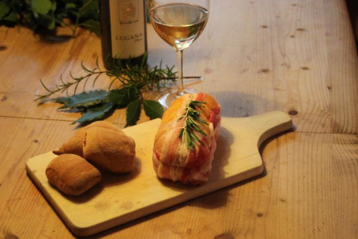 Coscetta Ripiena al Vino bianco