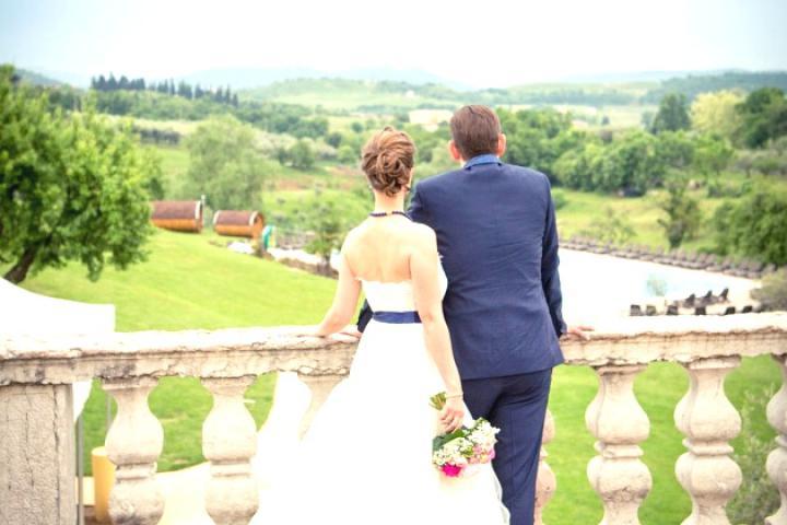 Marias Hochzeit am Gardasee - Villa Cariola