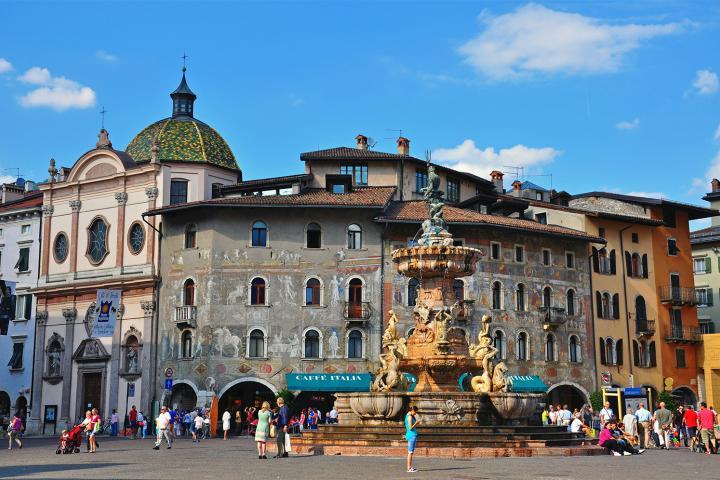 Sehenswürdigkeiten in Trento