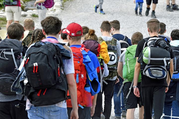 Klassenfahrt an den Gardasee