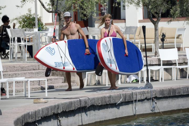 Dolce Vita am Gardasee auf dem SUP Board