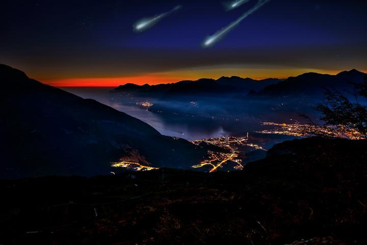 Notte di San Lorenzo - die Nacht der Sternschnuppen!