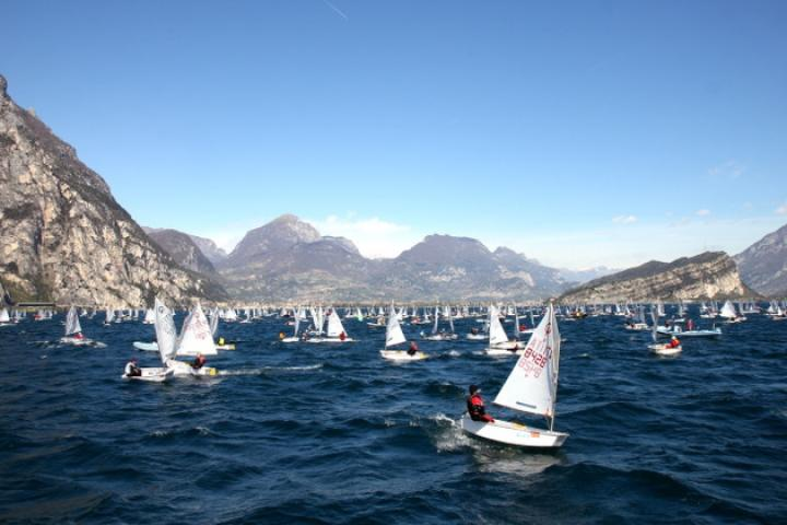 Optimist World Championship 2021 in Riva del Garda