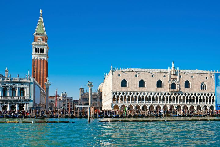 Vom Gardasee nach Venedig