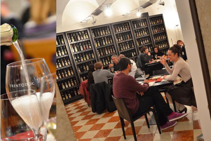 Palazzo Roccabruna - Degustation von Trentiner Spitzenwein