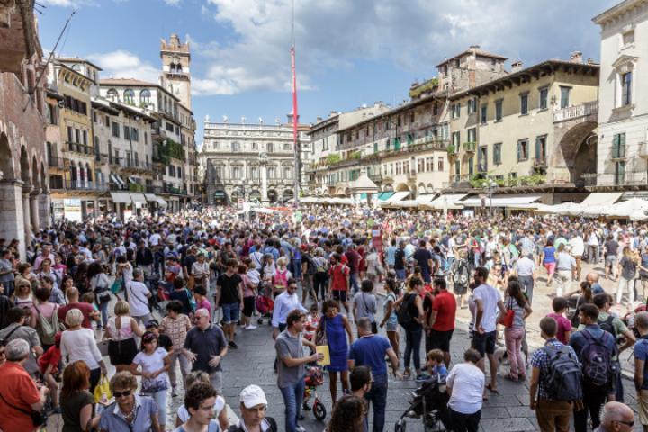 Straßenspielfestival Tocatì in Verona