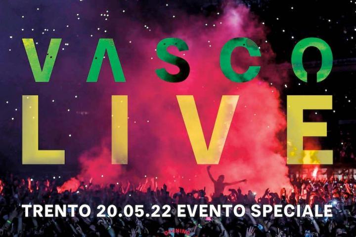 Vasco Rossi Konzert 2022 in Trento