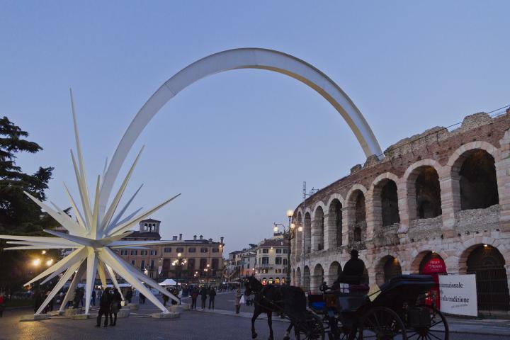 Weihnachten in der Arena in Verona