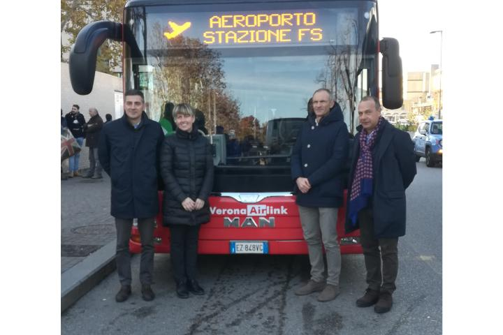 Verona Airlink: neue direkte Busverbindung vom Flughafen zum Hauptbahnhof