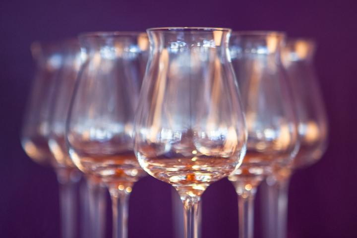 Weinverkostung mit Sommelière